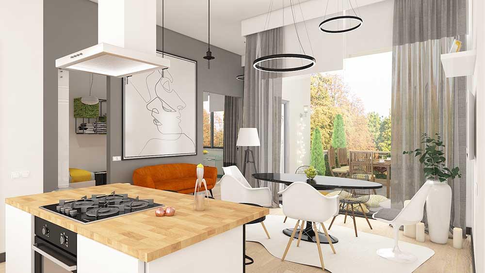living-steglitz-wohnung-kaufen-berlin, 3-Zimmerwohnung in Berlin